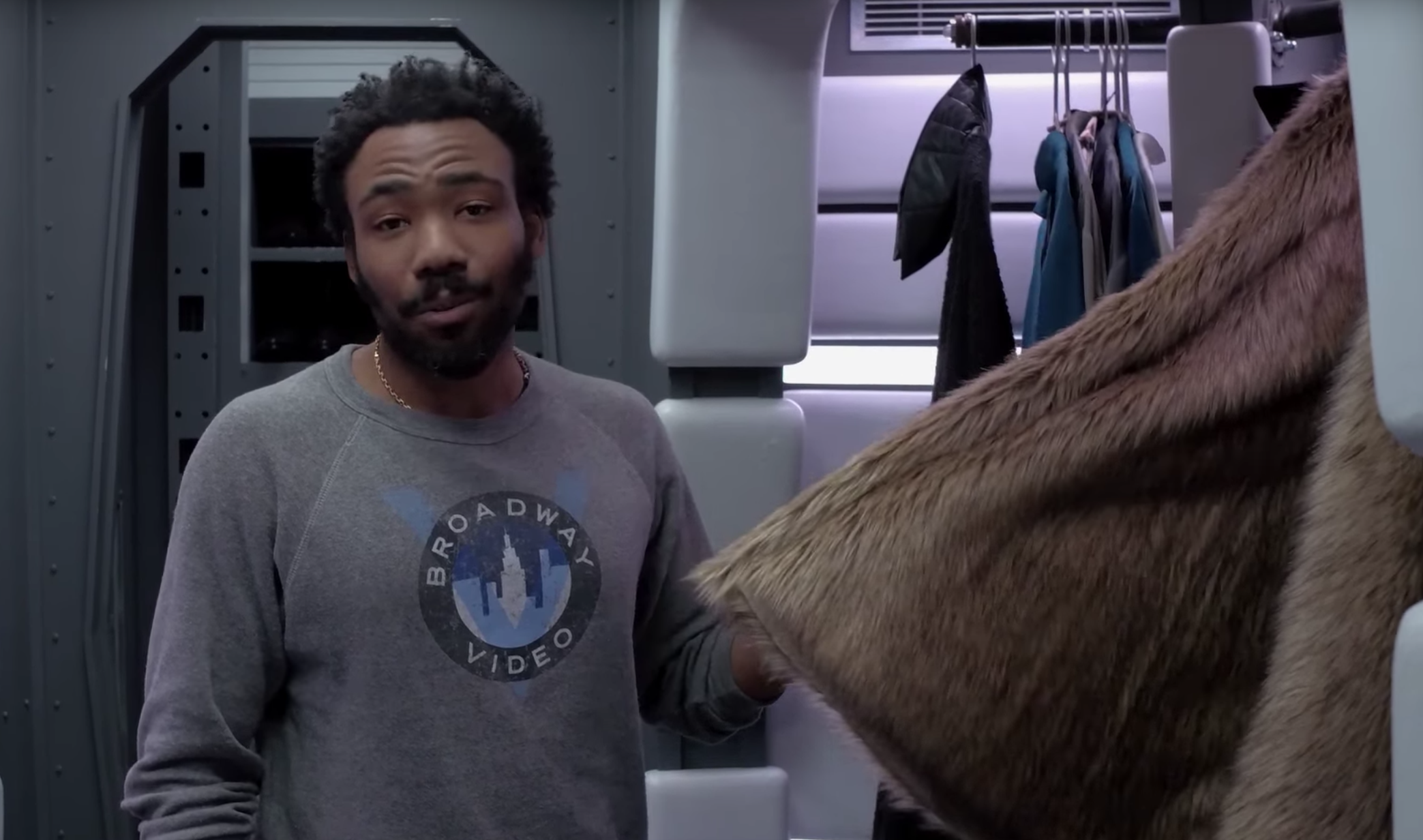 Donald Glover Gives Tour of the Millennium Falcon