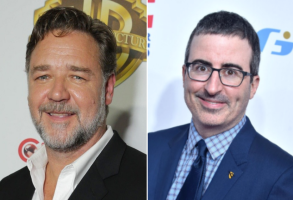 Russel Crowe and John Oliver