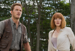Chris Pratt and Bryce Dallas Howard