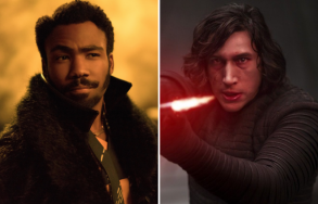 Donald Glover and Adam Driver
