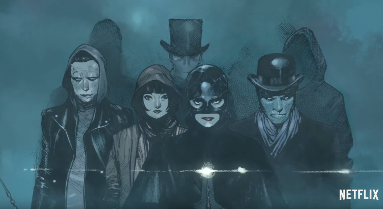 Trailer For Netflix Comic Book THE MAGIC ORDER