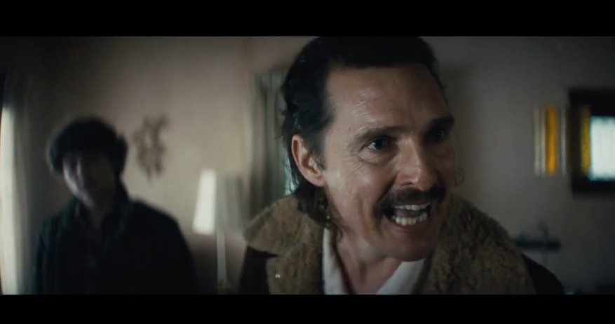 'White Boy Rick' trailer features drugs, dysfunction and a mustached Matthew McConaughey