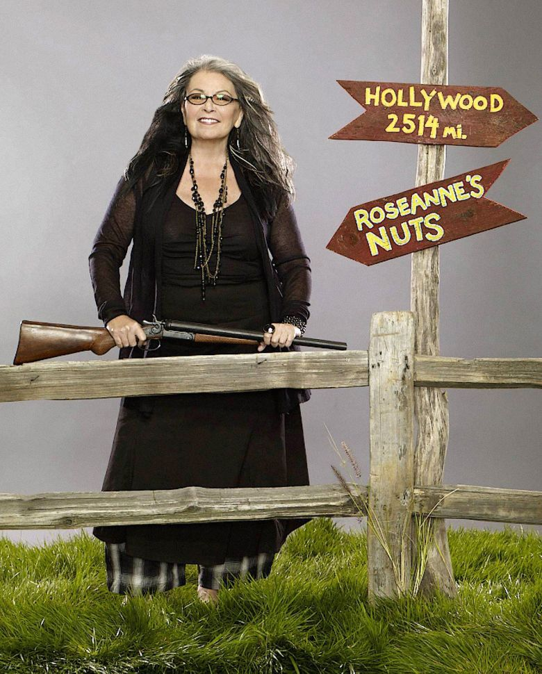 No Merchandising. Editorial Use Only. No Book Cover Usage.Mandatory Credit: Photo by Lifetime TV/Kobal/REX/Shutterstock (5875419a)Roseanne BarrRoseanne's Nuts - 2011Lifetime TelevisionUSATelevision