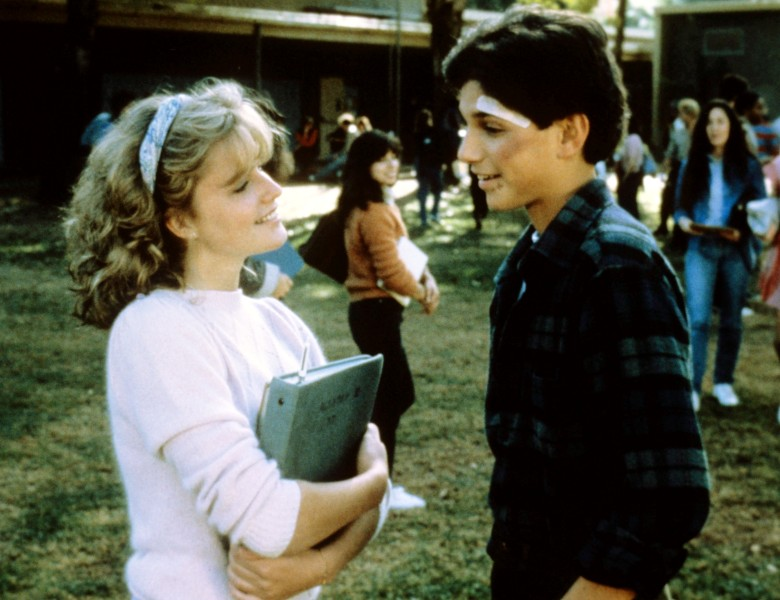 "Elisabeth Shue and Ralph Macchio, ""The Karate Kid"""