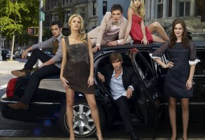 No Merchandising. Editorial Use Only. No Book Cover Usage.Mandatory Credit: Photo by Andrew Eccles/Cw Network/Kobal/REX/Shutterstock (5886128v)Penn Badgley, Ed Westwick, Taylor Momsen, Blake Lively, Chace Crawford, Leighton MeesterGossip Girl - 2007Cw NetworkUSATV Portrait