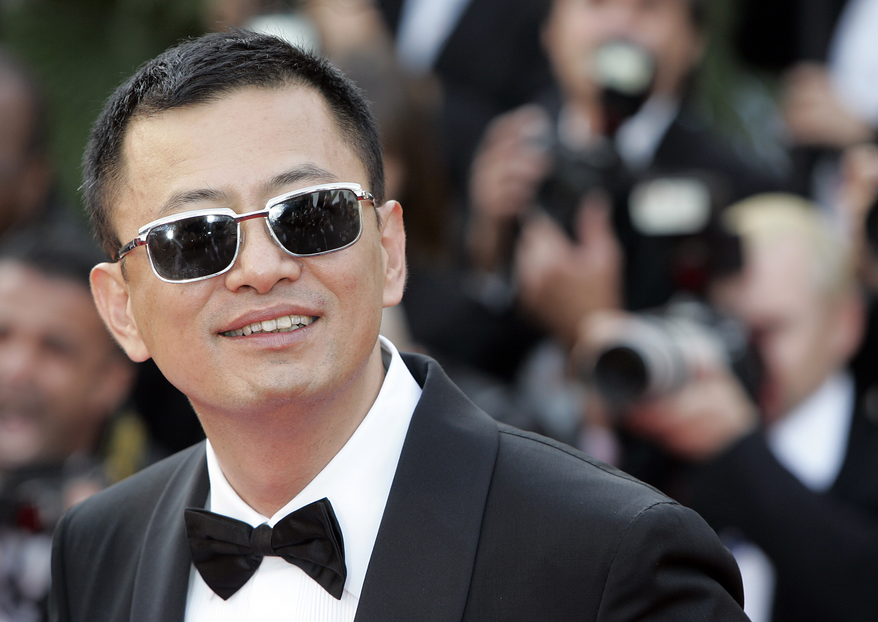 "Wong Kar-Wai In this May 16, 2007 Chinese director Wong Kar-Wai arrives for the screening of the film ""My Blueberry Nights,"" at the 60th International film festival in Cannes, southern France. Organizers of the Berlin International Film Festival say Chinese director Wong Kar-wai will lead the jury at next year's event in February. Festival director Dieter Kosslick praised the 56-year-old Wong on for the ""distinctive signature and the poetry of his worksGermany Berlin Film Festival, Cannes, France"