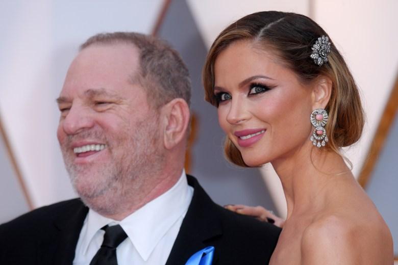 Harvey Weinstein and Georgina Chapman89th Annual Academy Awards, Arrivals, Los Angeles, USA - 26 Feb 2017