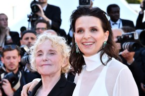 Juliette Binoche and director Claire DenisCANNES: OKJA Premiere, Cannes, France - 19 May 2017