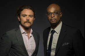 """Clayne Crawford, Damon Wayans Clayne Crawford, left, and Damon Wayans, cast members in the FOX series """"Lethal Weapon,"""" pose for a portrait during the 2017 Television Critics Association Summer Press Tour at the Beverly Hilton, in Beverly Hills, Calif2017 Summer TCA - """"Lethal Weapon"""" Portrait Session, Beverly Hills, USA - 08 Aug 2017"""
