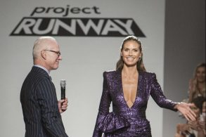 Tim Gunn & Heidi KlumProject Runway show, Runway, Spring Summer 2018, New York Fashion Week, USA - 08 Sep 2017