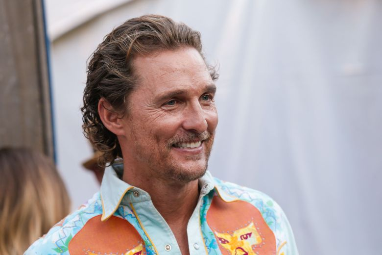 Matthew McConaughey'Strength In Neighbors' Benefit, Austin, Texas, USA - 23 Sep 2017Matthew McConaughey hosts the Strength In Neighbors Hurricane Harvey Benefit with entertainment by Alpha Rev, The Wind and The Wave, and Suzanna Choeffel at Parlor & Yard in Austin, Texas.