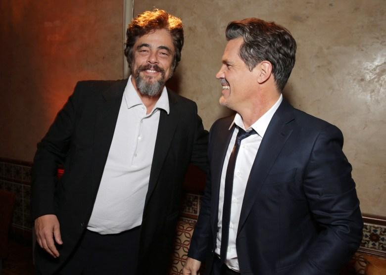 "Benicio del Toro and Josh Brolin seen at Warner Bros Pictures' Premiere of ""Inherent Vice"", in Los AngelesWarner Bros Pictures' Premiere of ""Inherent Vice"", Hollywood, USA - 10 Dec 2014"