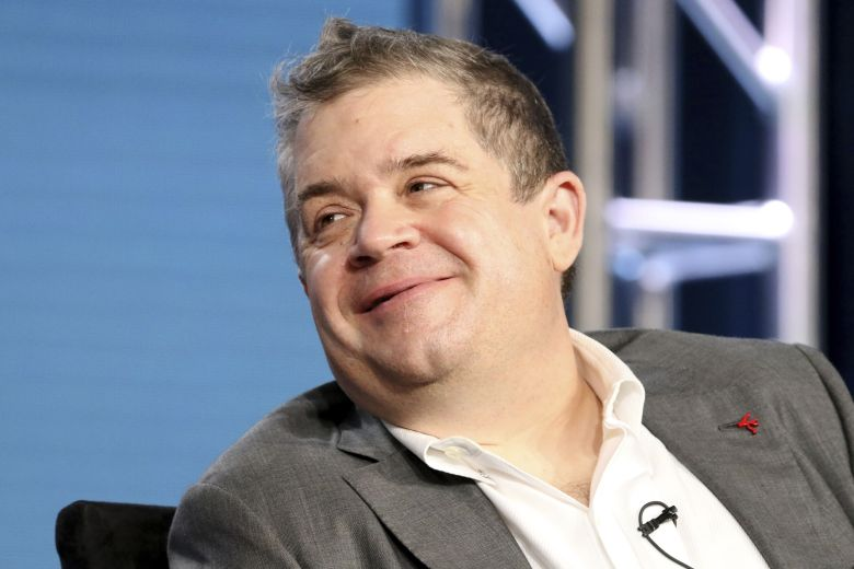 "Patton Oswalt participates in the ""A.P. Bio"" panel during the NBCUniversal Television Critics Association Winter Press Tour, in Pasadena, Calif2018 Winter TCA - NBCUniversal, Pasadena, USA - 09 Jan 2018"