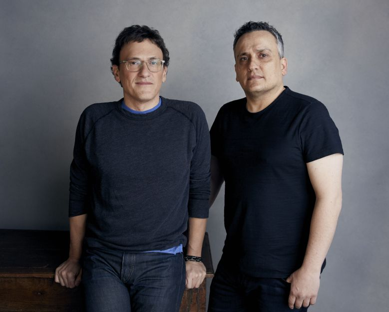 Anthony Russo, Joe Russo. Anthony Russo, left, and Joe Russo pose for a portrait at the Music Lodge during the Sundance Film Festival, in Park City, Utah2018 Sundance Film Festival - Joe and Anthony Russo Portrait Ses, Park City, USA - 20 Jan 2018