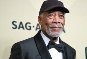 Morgan Freeman24th Annual Screen Actors Guild Awards, Press Room, Los Angeles, USA - 21 Jan 2018