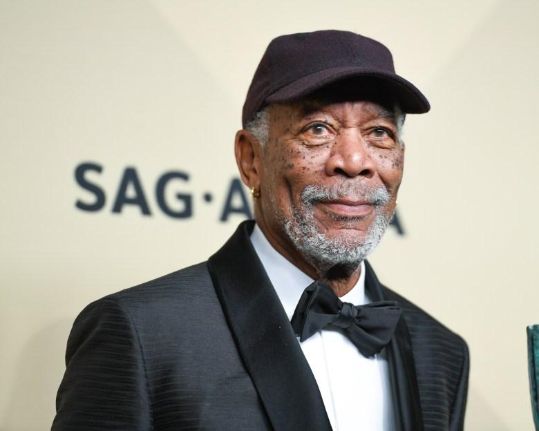 Morgan Freeman24th Annual Screen Actors Guild Awards, Press Room, Los Angeles, USA - 21 Jan 2018