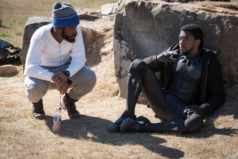 """Black Panther:"" Ryan Coogler and Chadwick Boseman"