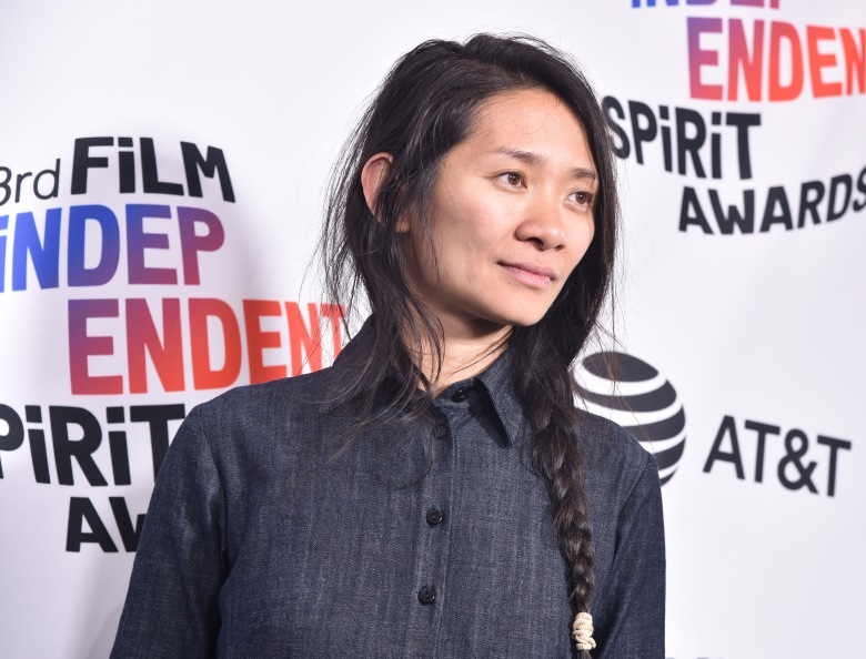 Chloe Zhao, winner of the Bonnie Award for 'The Rider'33rd Film Independent Spirit Awards, Press Room, Los Angeles, USA - 03 Mar 2018Chloe Zhao, who produced, directed and wrote the Western drama 'The Rider', has won Film Independent?s inaugural Bonnie Award, given to recognize a mid-career female director.