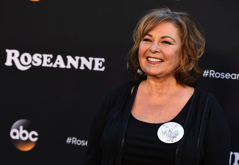 "Roseanne Barr arrives at the Los Angeles premiere of ""Roseanne"" on in Burbank, CalifLA Premiere of ""Roseanne"", Burbank, USA - 23 Mar 2018"