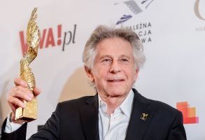 POLAND OUTMandatory Credit: Photo by Stach Leszczynski/EPA-EFE/REX/Shutterstock (9478507a)Roman PolanskiRoman Polanski at Polish Eagles Ceremony in Warsaw, Warszawa, Poland - 26 Mar 2018Polish-French director Roman Polanski poses with an award he received for his movie 'The Pianist' during the Polish Film Awards Orly (Eagles) gala at the Polish Theater in Warsaw, Poland, 26 March 2018. The Eagles are celebrating their 20th anniversary in 2018.