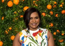 Mindy Kaling' Just Like Heaven' Fragrance Launch Dinner, New York, USA - 03 Apr 2018Tory Burch 'Just Like Heaven' Fragrance Launch Dinner, New York