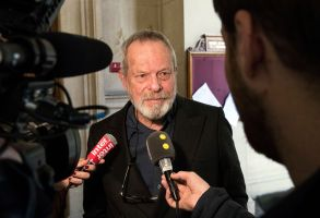 Terry GilliamBritish director Terry Gilliam's hearing at Court of Appeal in Paris, France - 04 Apr 2018US-born British director Terry Gilliam answers questions from the media as he leaves the Court of Appeal after a hearing, in Paris, France, 04 April 2018. The case sees director Terry Gilliam and Portuguese producer Paulo Branco battling for the rights to the fillm 'The Man Who Killed Don Quixote'.