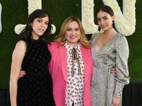 Mishel Prada Tanya Saracho and Melissa BarreraThe Contenders Emmys presented by Deadline Hollywood, Green Room, Los Angeles, USA - 15 Apr 2018