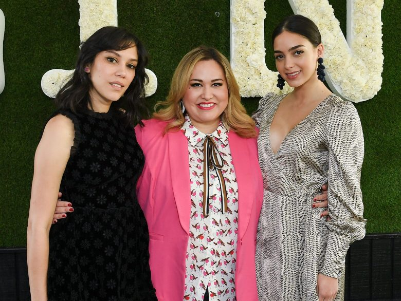 Mishel Prada Tanya Saracho and Melissa BarreraThe Contenders Emmys presented by Deadline Hollywood, Green Room, Los Angeles, USA - 15 Apr 2018