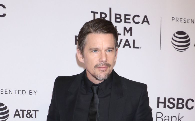 Ethan Hawke 'Stockholm' film premiere, Tribeca Film Festival, New York, USA - 19 Apr 2018