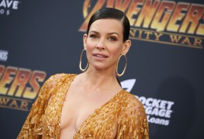 Evangeline Lilly'Avengers: Infinity War' film premiere, Arrivals, Los Angeles, USA - 23 Apr 2018