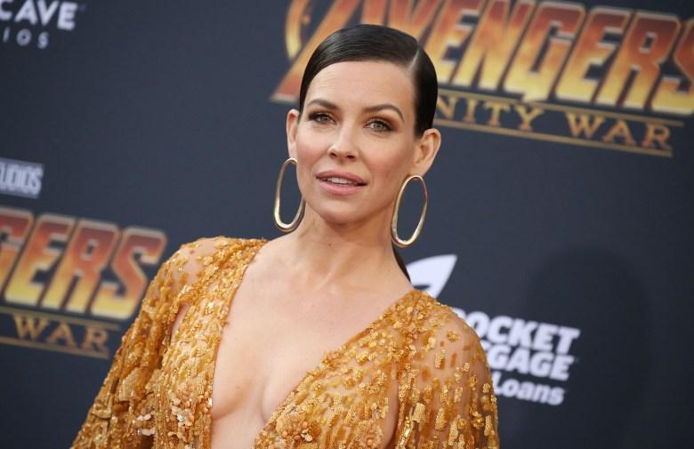 Evangeline Lilly'Avengers: Infinity War' film premiere, Arrivals, Los Angeles, USA - 23 Apr 2018