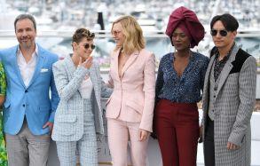 Denis Villeneuve, Kristen Stewart, Cate Blanchett, Khadja Nin and Chang ChenJury photocall, 71st Cannes Film Festival, France - 08 May 2018