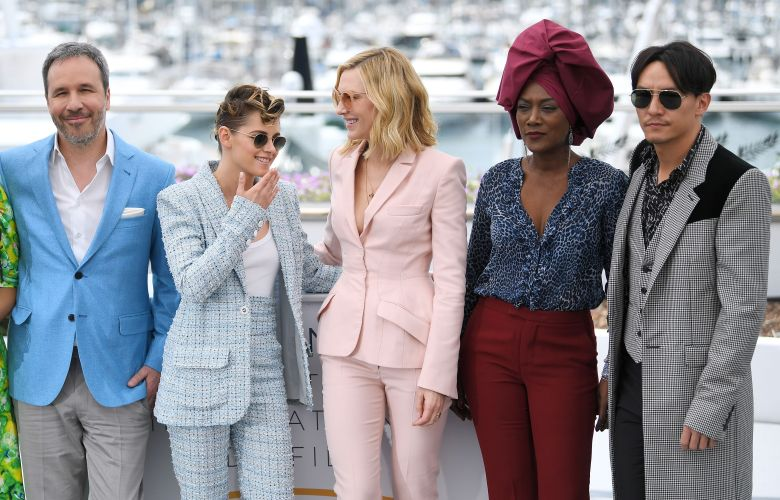 Denis Villeneuve, Kristen Stewart, Cate Blanchett, Khadja Nin and Chang ChenJury photocall, 71st Cannes Film Festival, France - 08 May 2018