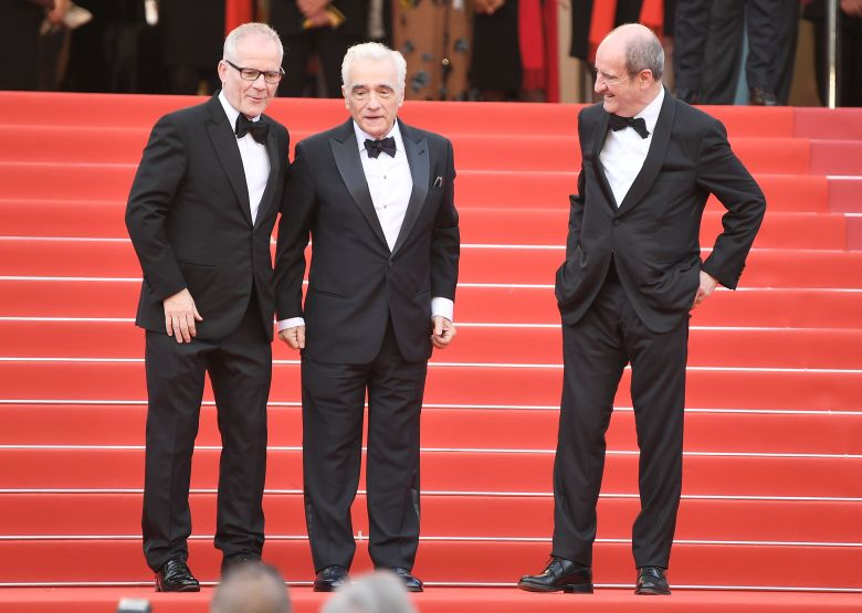 Thierry Fremaux, Martin Scorsese and Francois Erlenbach'Everybody Knows' premiere and opening ceremony, 71st Cannes Film Festival, France - 08 May 2018