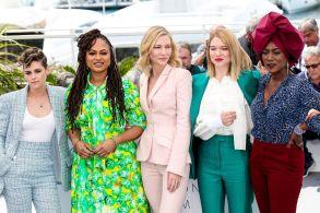 Kristen Stewart, Ava DuVernay, Cate Blanchett, Léa Seydoux and Khadja NinJury photocall, 71st Cannes Film Festival, France - 08 May 2018