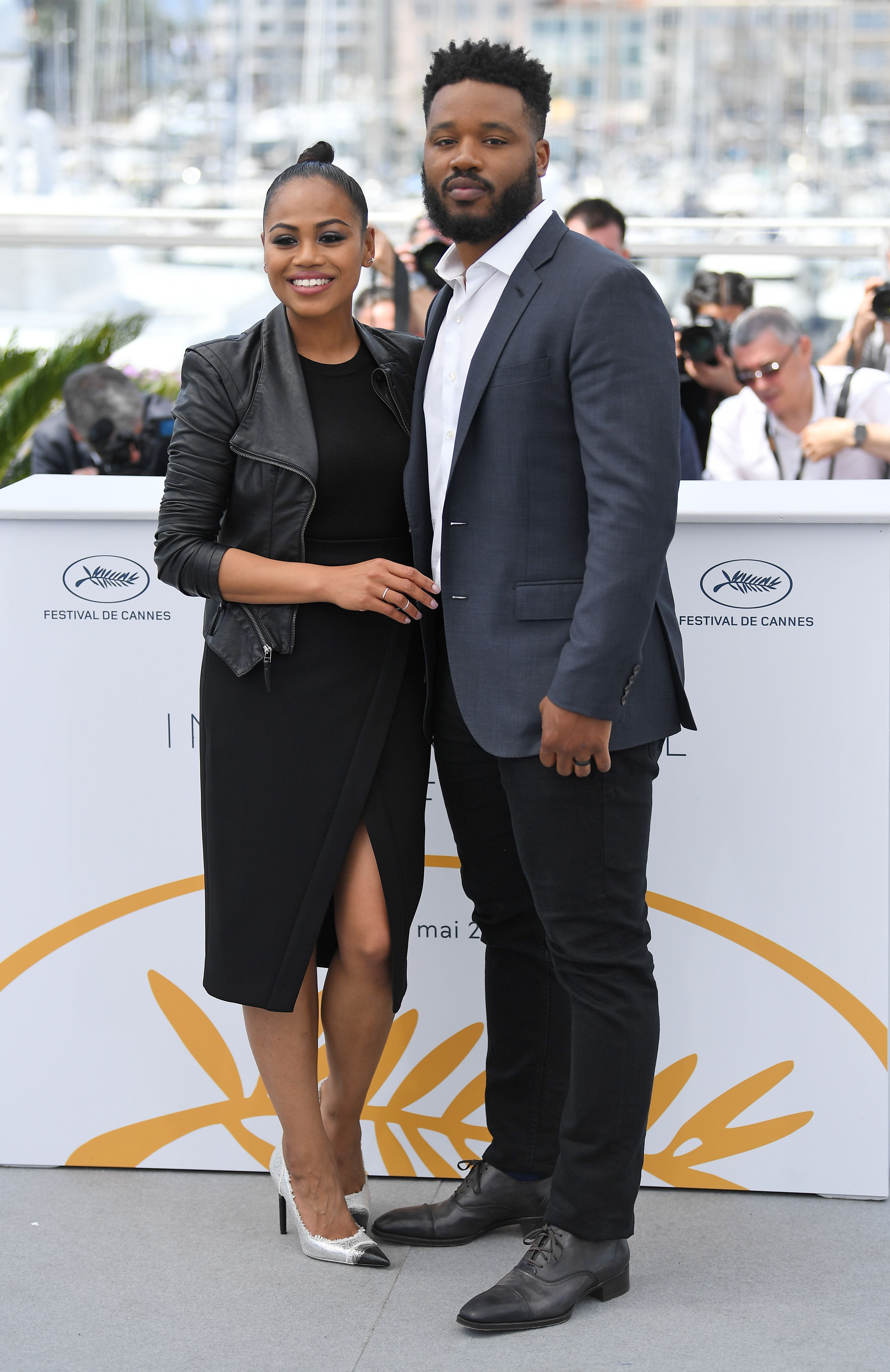 Zinzi Evans and Ryan CooglerRyan Coogler photocall, 71st Cannes Film Festival, France - 10 May 2018