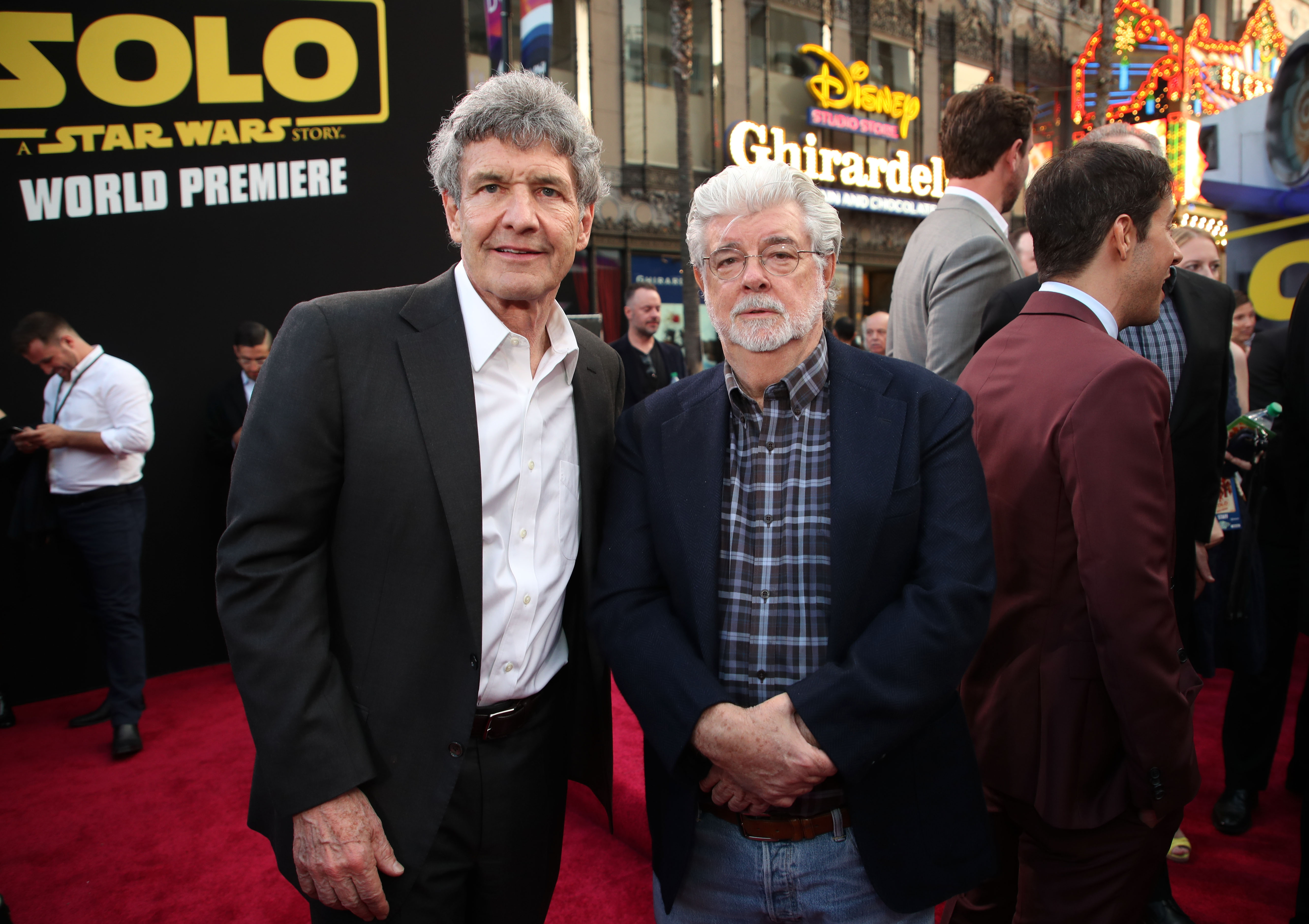 Alan F. Horn and George Lucas'Solo: A Star Wars Story' film premiere, Arrivals, Los Angeles, USA - 10 May 2018