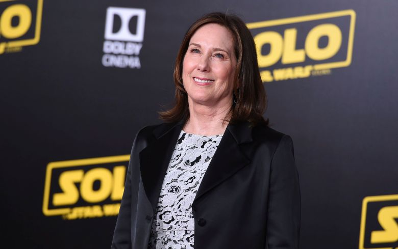 """Kathleen Kennedy arrives at the premiere of """"Solo: A Star Wars Story"""" at El Capitan Theatre, in Los AngelesLA Premiere of """"Solo: A Star Wars Story"""", Los Angeles, USA - 10 May 2018"""