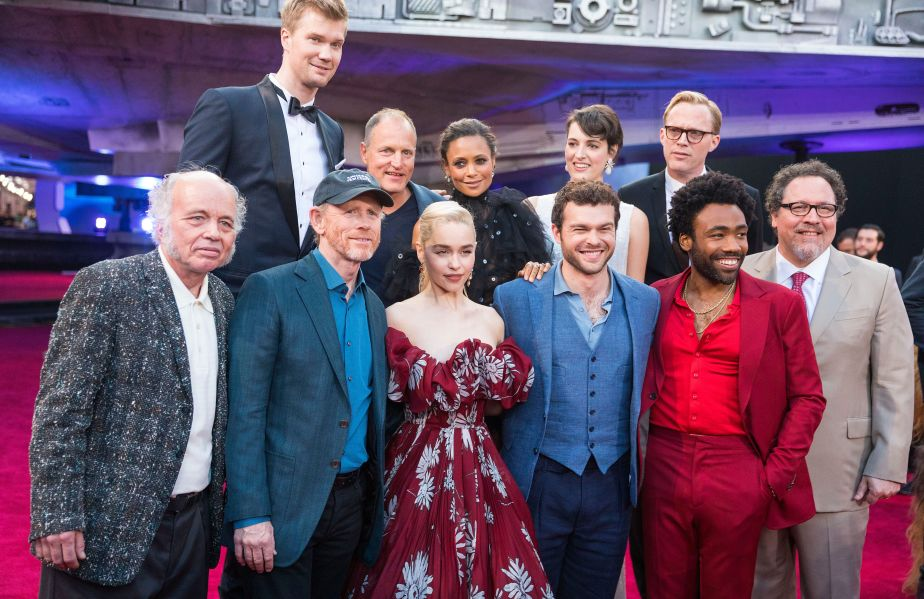 "The Cast of ""Solo: A Star Wars Story"""