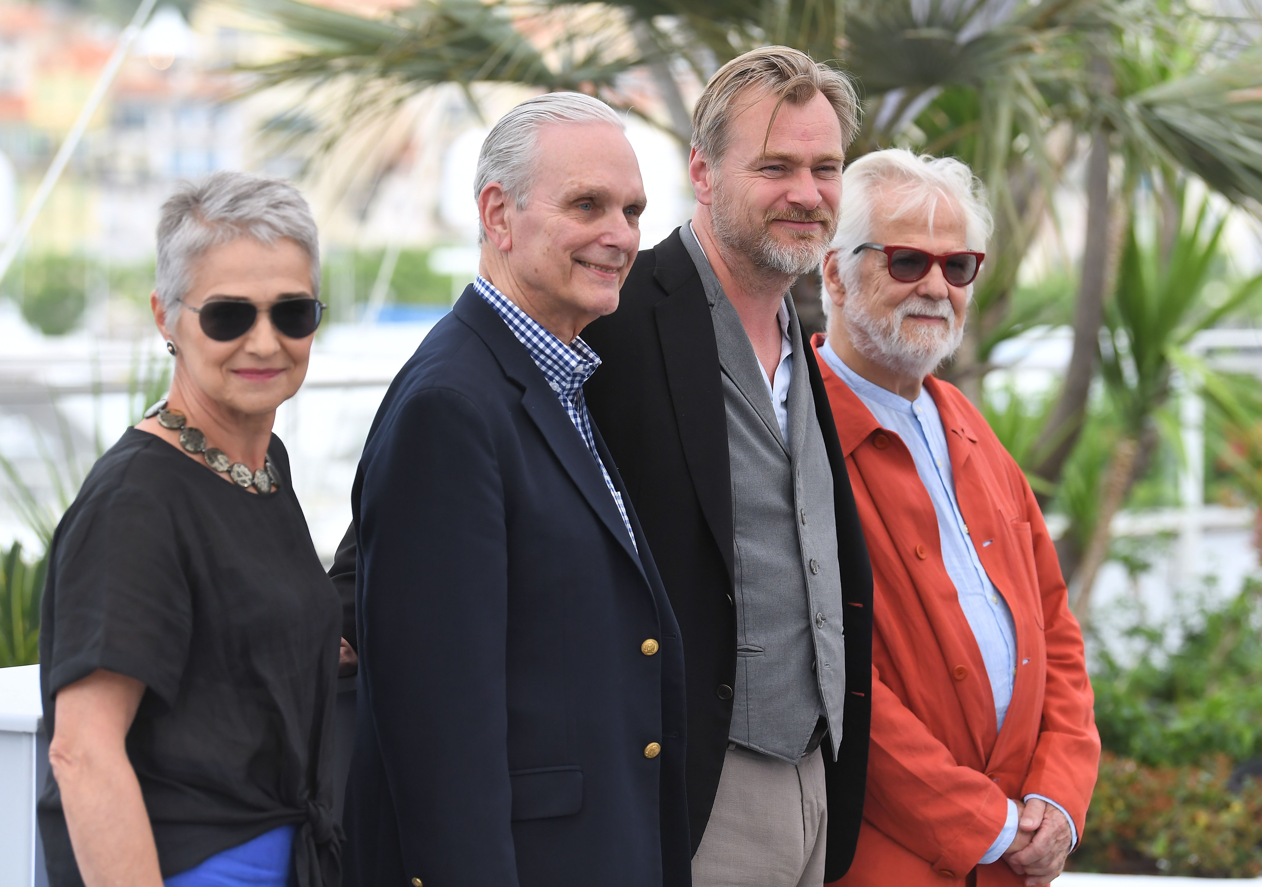 Katharina Kubrick, Keir Dullea, Christopher Nolan and Jan HarlanChristopher Nolan photocall, 71st Cannes Film Festival, France - 12 May 2018