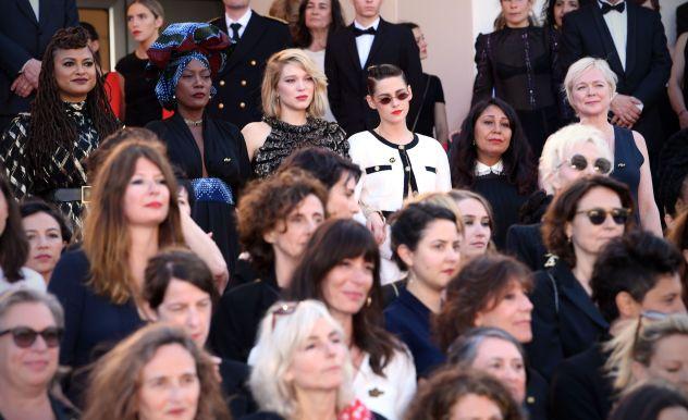 Lea Seydoux, Kristen Stewart and actresses