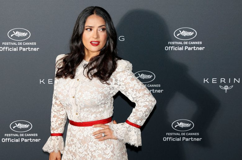 Mexican actress Salma Hayek poses during the 'Kering Women in Motion Talk' photocall at the 71st annual Cannes Film Festival, in Cannes, France, 13 May 2018. The festival runs from 08 to 19 May.Kering Women in Motion Talk Photocall - 71st Cannes Film Festival, France - 13 May 2018