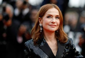 Isabelle Huppert arrives for the screening of 'Sink Or Swim (Le Grand Bain)' during the 71st annual Cannes Film Festival, in Cannes, France, 13 May 2018. The movie is presented out of competition at the festival which runs from 08 to 19 May.Sink Or Swim Premiere - 71st Cannes Film Festival, France - 13 May 2018