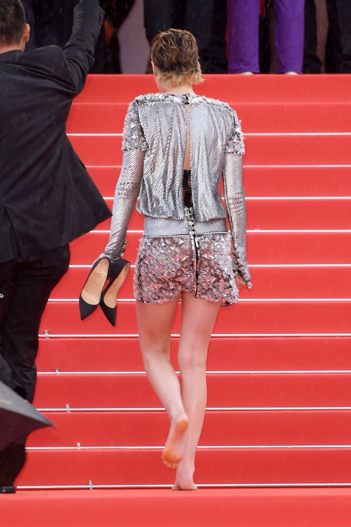 Kristen Stewart'BlacKkKlansman' premiere, 71st Cannes Film Festival, France - 14 May 2018 WEARING CHANEL