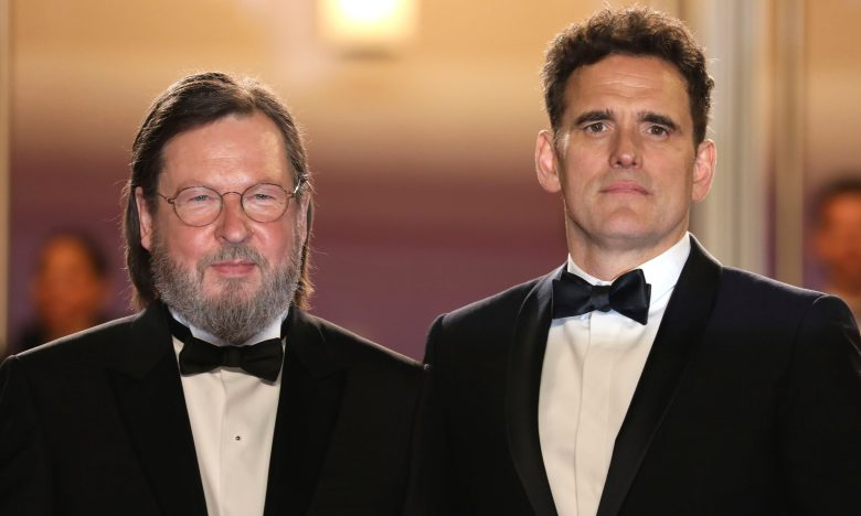 Lars von Trier, Matt Dillon. Director Lars von Trier, left, and actor Matt Dillon pose for photographers upon arrival at the premiere of the film 'The House That Jack Built' at the 71st international film festival, Cannes, southern France2018 The House That Jack Built Red Carpet, Cannes, France - 14 May 2018
