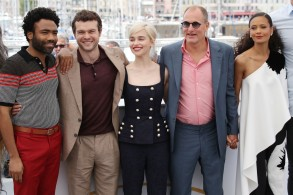 Donald Glover, Alden Ehrenreich, Emilia Clarke, Ron Howard, Woody Harrelson, and Thandie Newton
