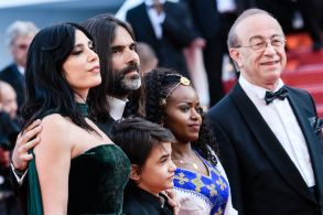 Khaled Mouzanar, director Nadine Labaki, Zain Alrafeea, Yordanos ShiferaCapharnaum Premiere - 71st Cannes Film Festival, France - 17 May 2018