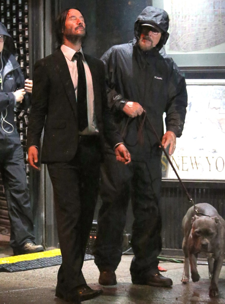 Keanu Reeves'John Wick: Chapter Three' on