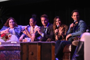 Chrissy Metz, Susan Kelechi Watson, Justin Hartley, Mandy Moore and Milo Ventimiglia'This Is Us' FYC event, Panel, Los Angeles, USA - 29 May 2018