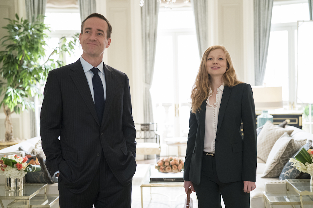 Succession - Season 1 Matthew Macfadyen Sarah Snook